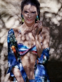 Kendall Jenner in Bikini Spread for French FLAVOR Magazine