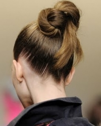 Knotted Bun Hairstyles
