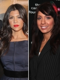 Pregnant Kourtney Kardashian in Twitter Battle with Teen Mom Farrah Abraham