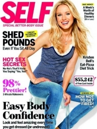 Kristen Bell Talks Diet and Being a Vegetarian with SELF February 2012