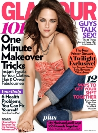Kristen Stewart Talks Twilight and More With Glamour November 2011