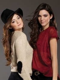 Kendall and Kylie Jenner for CAR MAR Fall 2012 Lookbook
