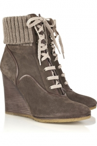 Fall 2010 Lace-Up Boots Shoe Trend
