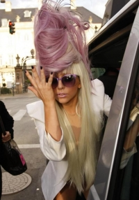 Funky Celebrity Hairstyles