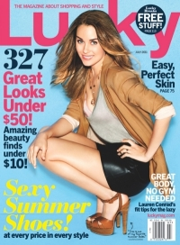 Lauren Conrad Covers 'Lucky' July 2011