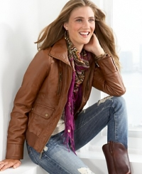 Chic Leather Jacket Outfit Ideas