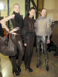 Fall/Winter 2010 Leather Pants Trend