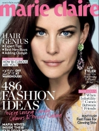 Liv Tyler Talks Love and Motherhood with Marie Claire UK March 2012