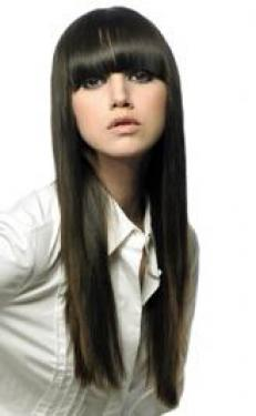Super Long with Bangs Hairstyle