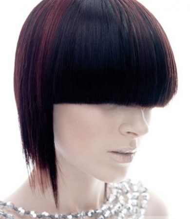 Chic Edgy Hair Highlights