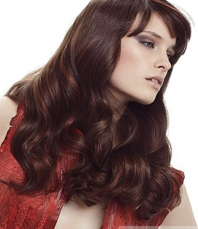 Chic Long Loose Curls Hair Style