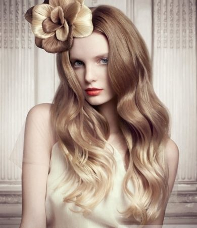 Romantic Two Tone Long Hairstyle