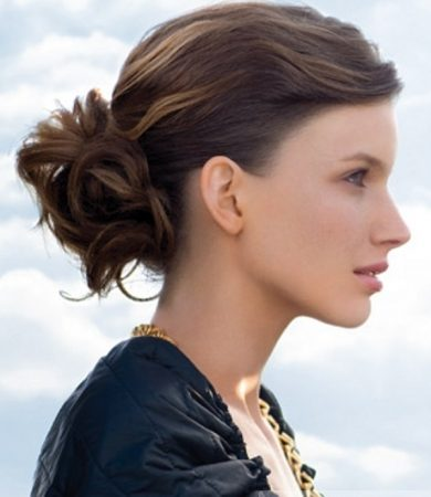 Easy Updo Hair Style