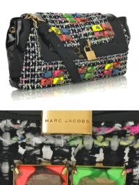 Marc Jacobs Fluorescent Tweed Bag