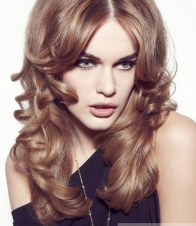 Party Perfect Loose Curls Hairstyle