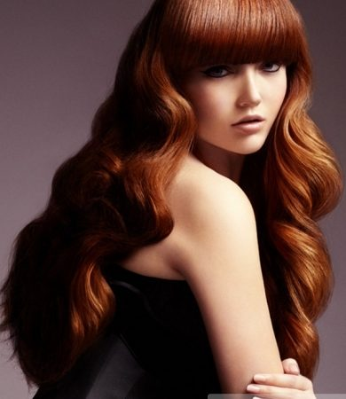 Amazing Long Red Hairstyle