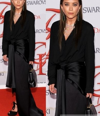 Mary Kate Olsen in The Row Outfit
