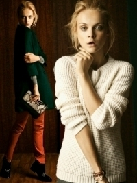 Massimo Dutti October 2011 Lookbook