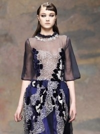 Michael van der Ham Fall 2013 London Fashion Week