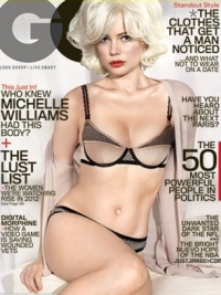 Michelle Williams Strips Down for GQ February 2012