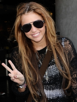 Miley Cyrus Extra Long Hairstyle