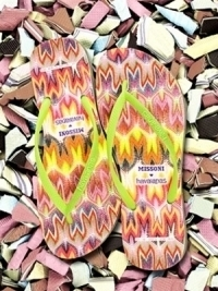 Missoni x Havaianas Flip Flops Summer 2012 Collection