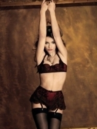 Monica Cruz for Agent Provocateur Fall/Winter 2012 Lingerie Campaign