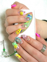 Girly Nail Art Designs