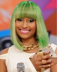 Celebrity Bright Nail Color Trends 2011