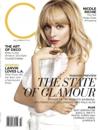 Nicole Richie Covers California Style March 2012