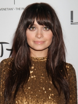 Nicole Richie New Brown Hair Color