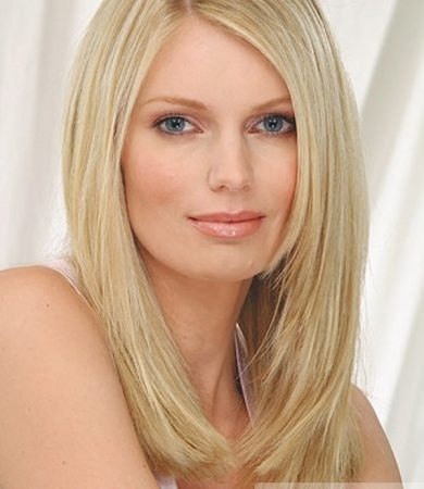 Long Blonde Layered Hair Style
