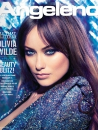 Olivia Wilde Covers Angeleno Magazine February 2012