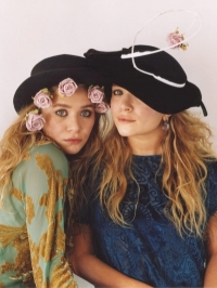 Mary-Kate and Ashley Olsen in Vogue April 2011