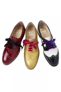 Oxford Flats Fall Shoes Celebrity Style