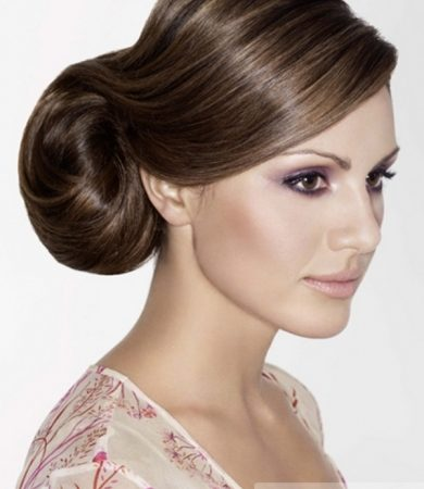 Super-Sleek Prom Updo Hair