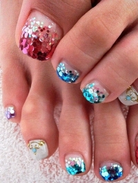 Cool Toe Nail Art Designs