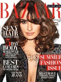 Penélope Cruz Covers Harper's Bazaar May 2012