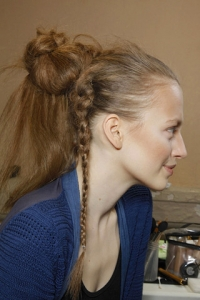 Fall 2010 Ponytail Runway Hair Styles