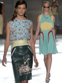 Prada Spring 2012 – Milan Fashion Week