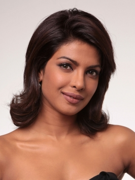 Pictures Priyanka Chopra Hairstyles Priyanka Chopra Medium Layered Haircut