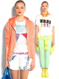 Pull & Bear 'Neon Flash' Spring/Summer 2012