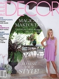 Reese Witherspoon's Ojai Home in Elle Decor September 2012