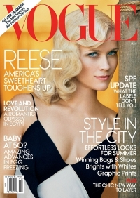 Reese Witherspoon Covers Vogue US May 2011