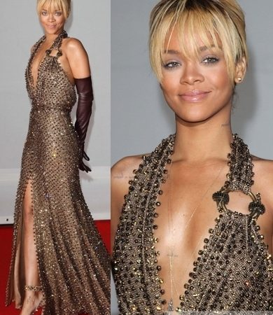 Rihanna in Givenchy Couture Gown