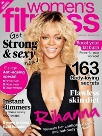 Rihanna Covers Women's Fitness UK May 2012