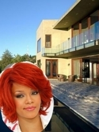Rihanna's Home in Beverly Hills, California