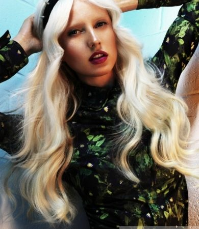 Fab Platinum Long Hairstyle