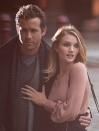 Rosie Huntington-Whitely and Ryan Reynolds for M&S Campaign