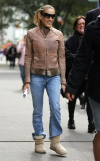 Celebrity UGG Boots Winter Trend